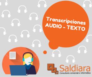 Imagen transcripción audio-texto